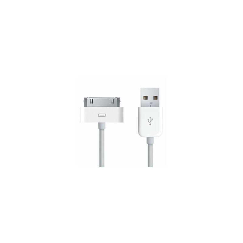 IPhone 4/4S/3GS ipod/iPad USB töltőkábel 80 cm utángyártott