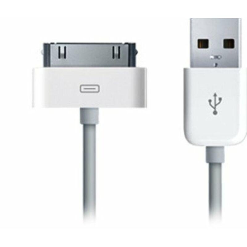 iPhone5/5S/5C/6/6Plus/iPod/iPad USB töltőkábel 80 cm Gyári