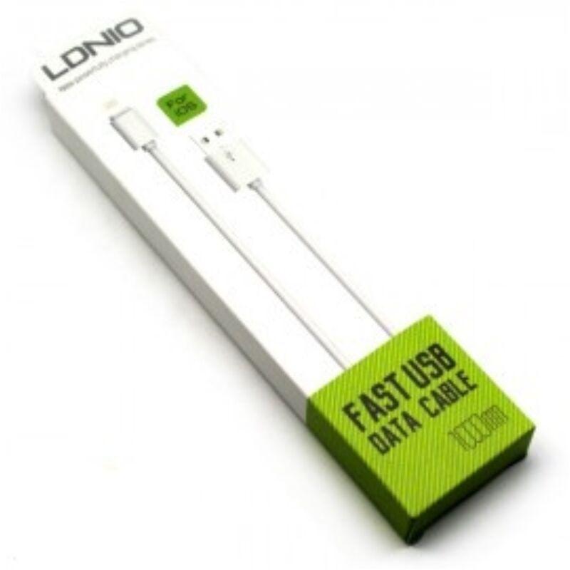 Ldnio SY-03 gyors töltő- és adatkábel 1m iPhone 5/5S/6/Plus-hoz