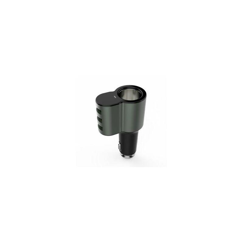 LDNIO CM11 autós szivargyújtós csatlakozó + USB C kábel 3xUSB gyorstöltő porttal