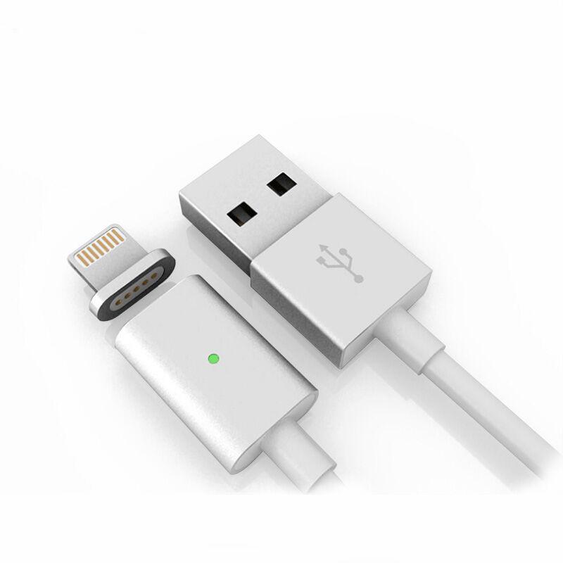 Mágneses iPhone töltő kábel lightning csatlakozóval- 1m