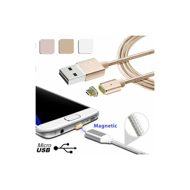 Mágneses android-os micro USB-s töltőkábel - 1m