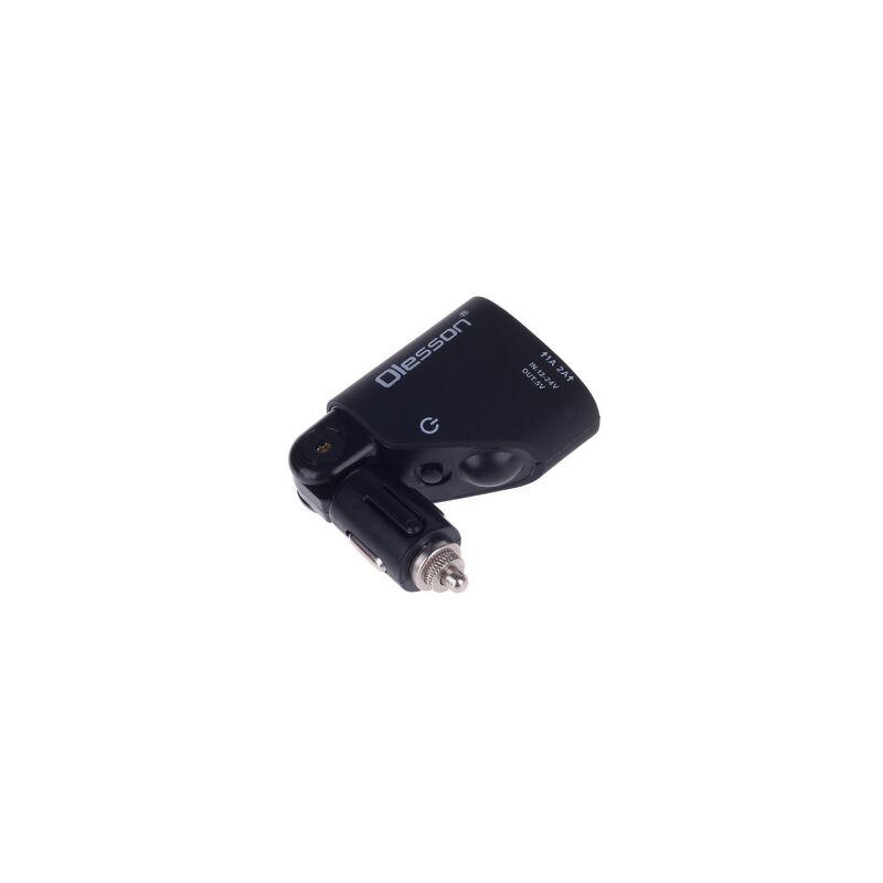 Szivargyújtós töltő + 2 USB csatlakozó