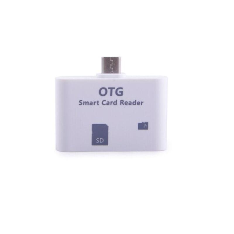 OTG adapter - SD kártya olvasó Micro USB