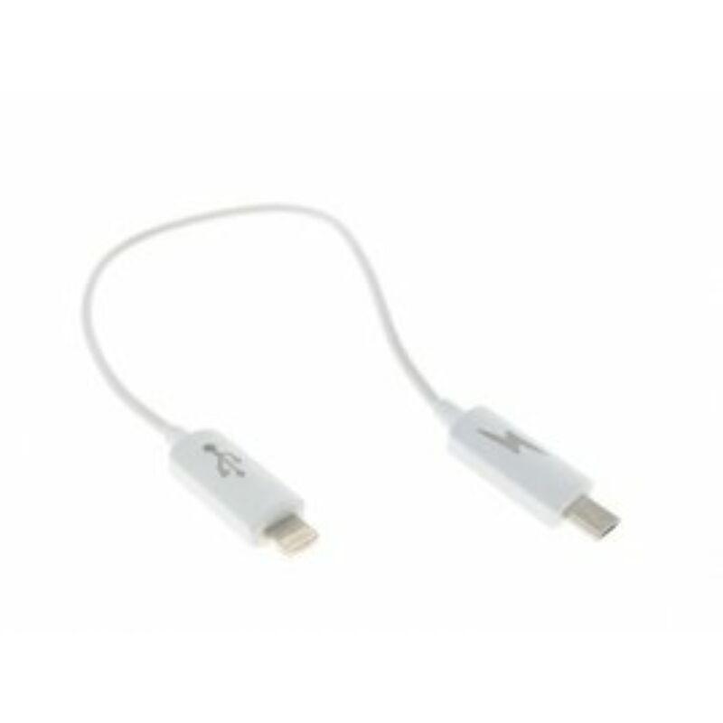 Lightning iphone-micro usb szinkronizáló adatkábel