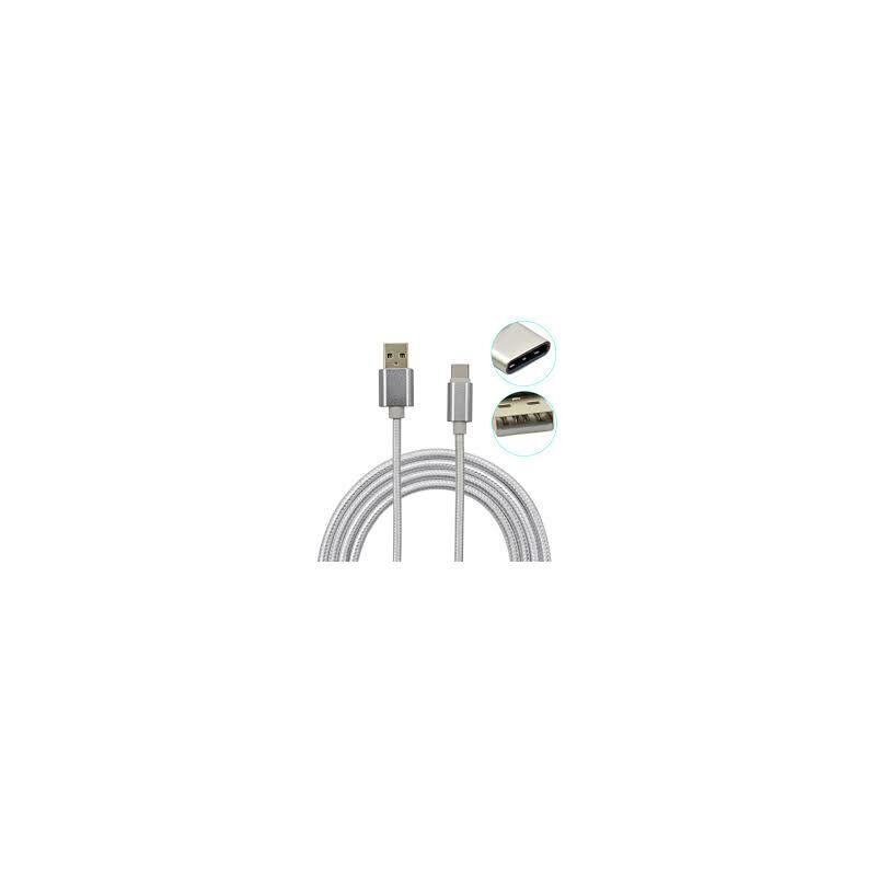 USB Type-C töltő-és adatkábel, extra erős kivitel 1m