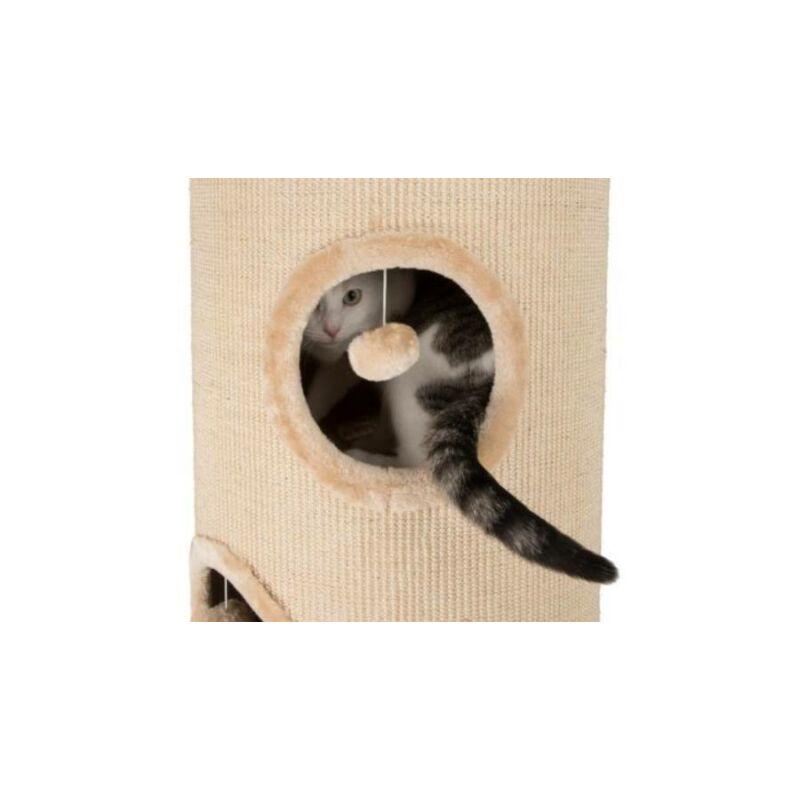 Macskaodú kaparóhordó játékkal 62 cm
