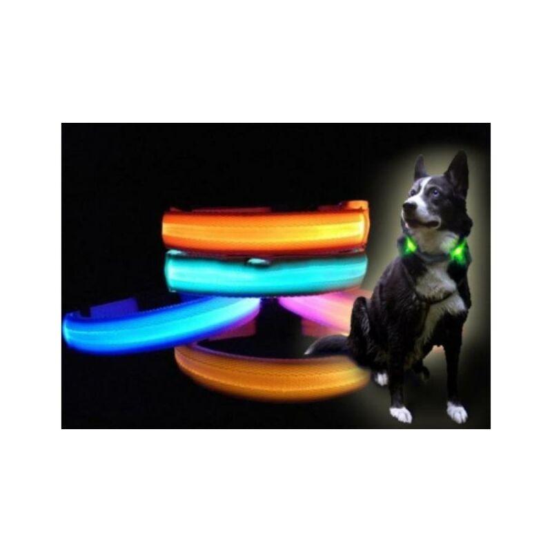 Világítós kutyanyakörv S-M-L méretekben