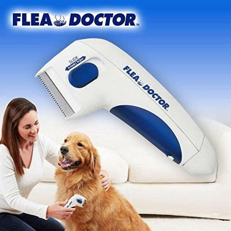Elektromos bolhairtó fésű kutyák és macskák számára