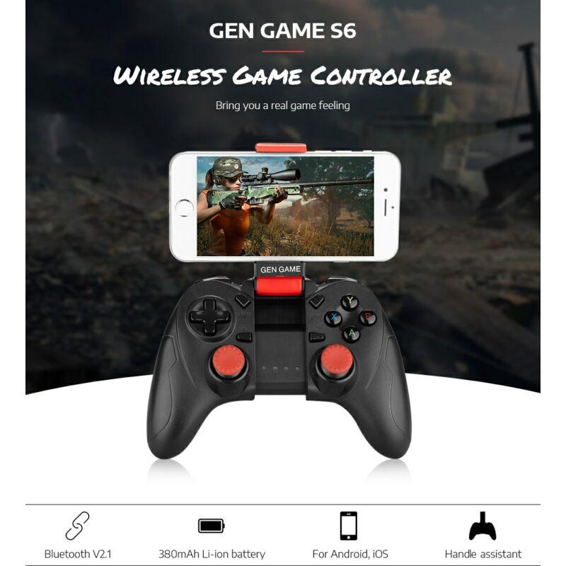 Gen Game S6 deluxe bluetooth gamepad játékkontroller