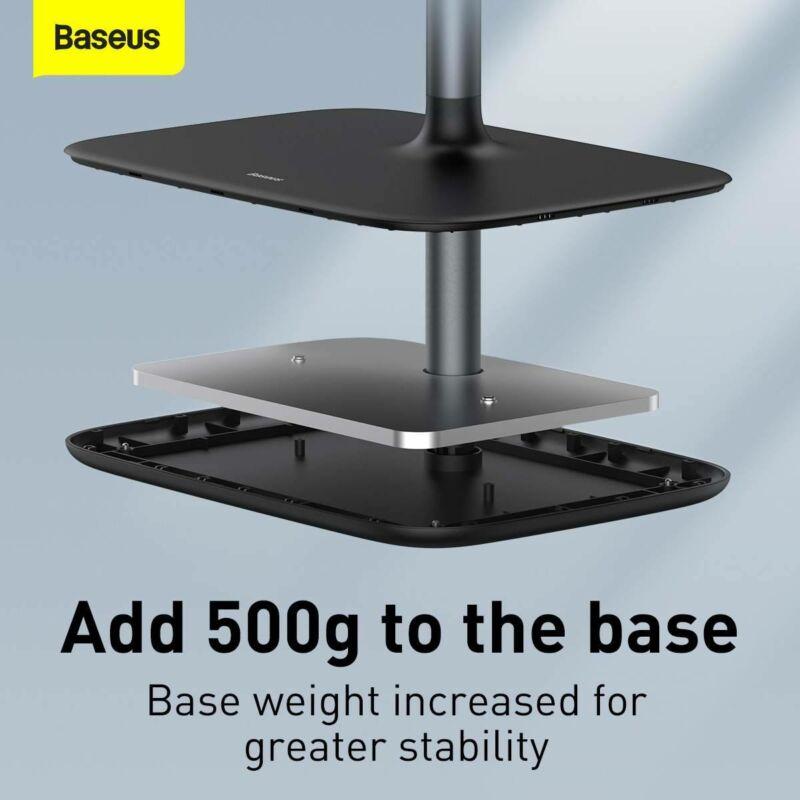 BASEUS univerzális állítható alumínium telefon, tablet tartó állvány
