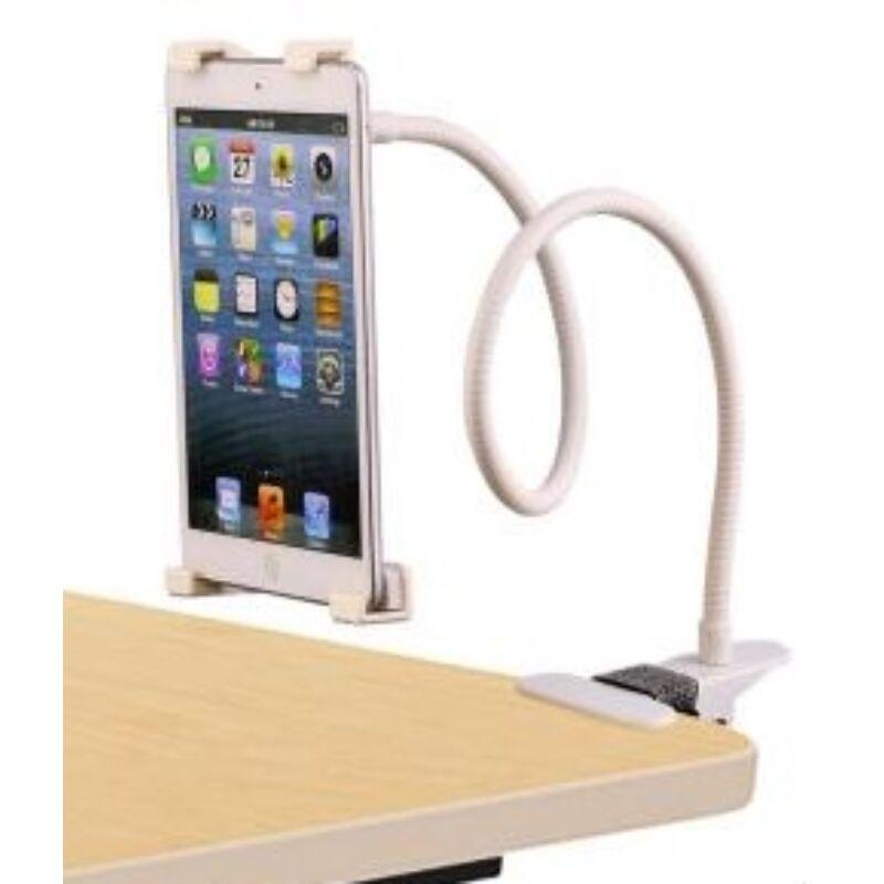 Flexibilis, univerzális tablet tartó (fehér)