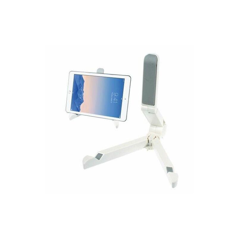 Összecsukható asztali tablet tartó / táblagép állvány  fehér