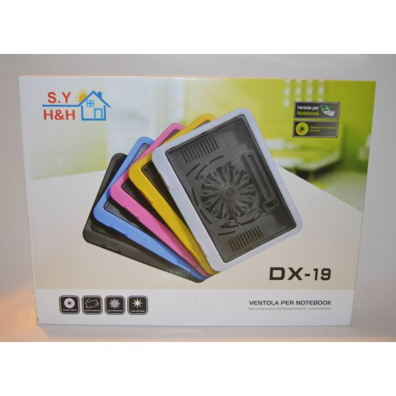 Laptop hűtő (notebook cooler ) DX-19