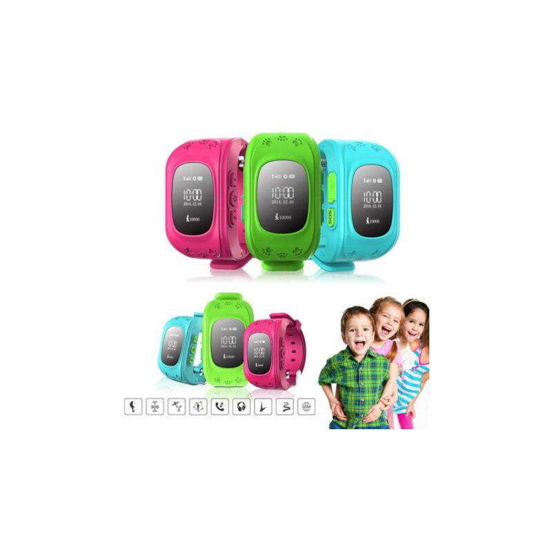 GPS nyomkövető okosóra gyerekeknek - SOS gyorsgomb funkcióval