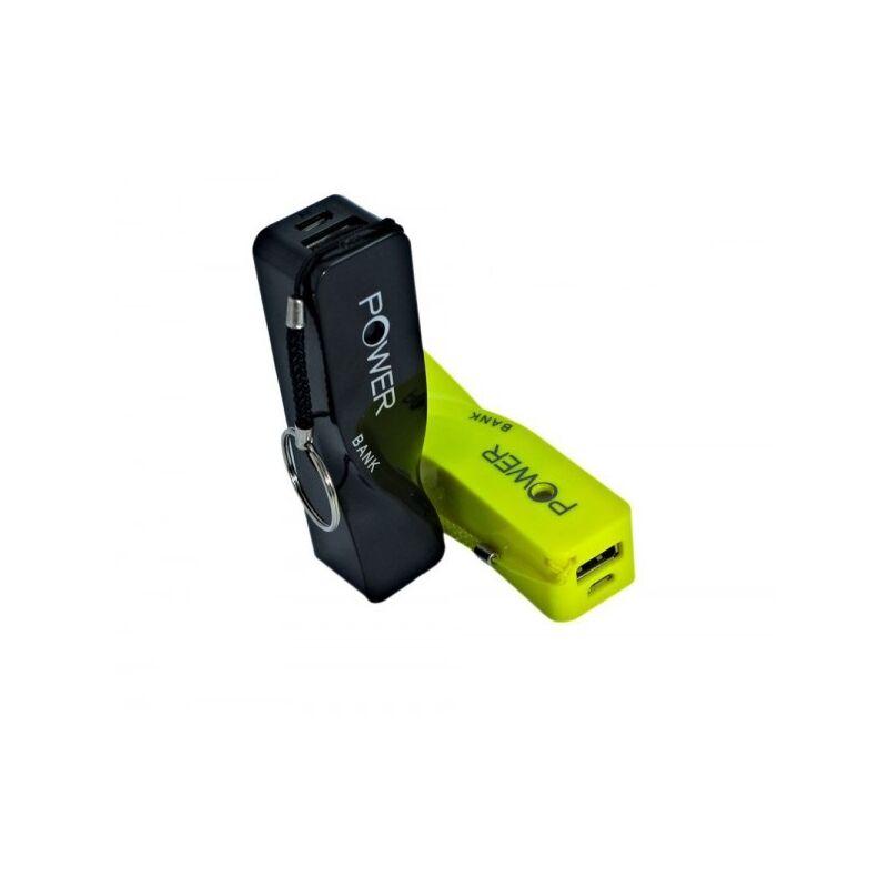 Powerbank külső akkumulátor 4800mAh - fekete