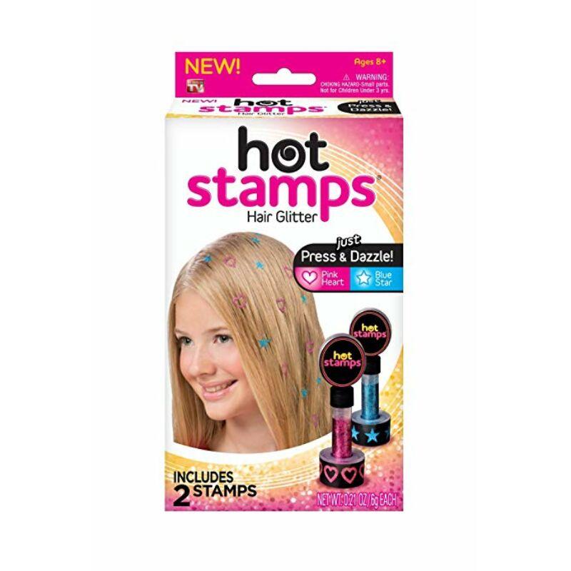 Hot Stamps csillogó haj nyomda