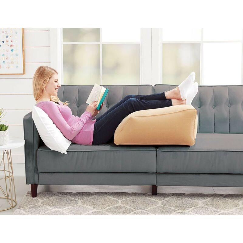 Lábemelő párna, Lábpárna, tv néző párna felfújható Leg Ramp