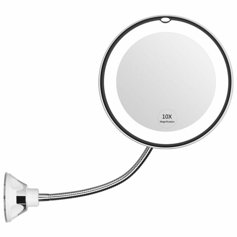 Flexibilis rögzíthető sminktükör LED fénnyel