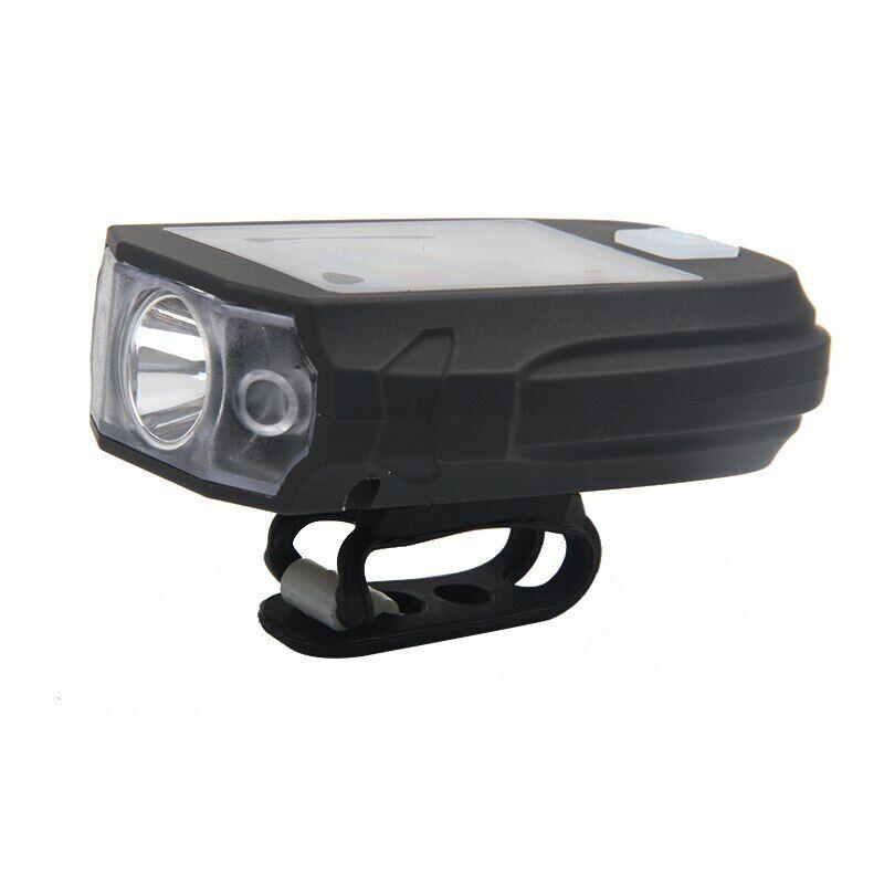 Napelemes LED-es kerékpáros lámpa vagy zseblámpa