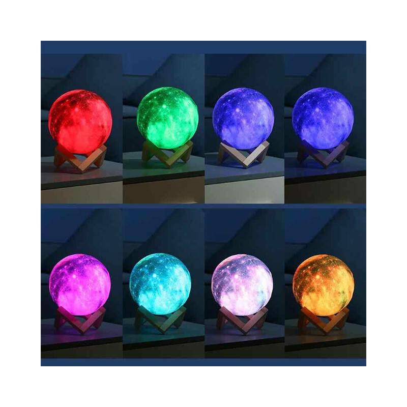 3D MOON HOLD lámpa