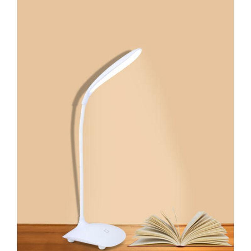 LED asztali és olvasó lámpa és óra - érintő érzékelős