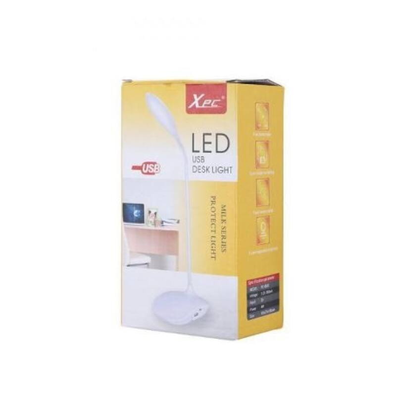 LED asztali lámpa 20 led-es, USB-s