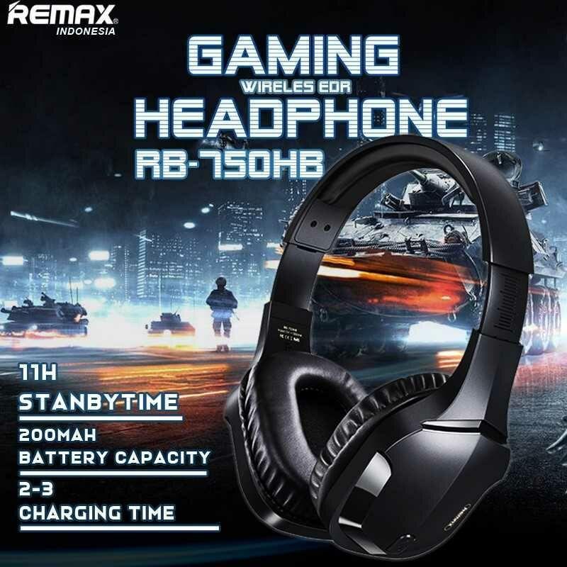 Gamer Fejhallgató Remax RB-750HB Wiirelles